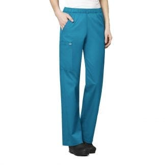Womens pull on scrub trousers