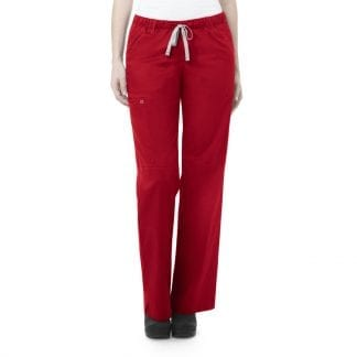 Womens Drawstring Cargo Scrub Trousers