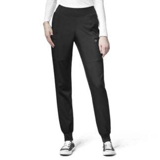 W123 Womens WW5555 Cargo Jogger Scrubs Womens Trousers