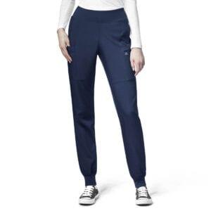 W123 Womens WW5555 Cargo Jogger Scrubs Womens Trousers