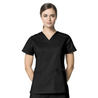 WonderFlex WW6108 Womens Vet Nurse Scrub Tops