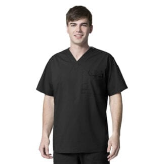 WonderFlex WW6618 Mens Tall Utility Scrub Tops