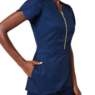 Jaanuu Tulip Top Beautician Workwear