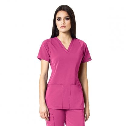 Wonderwink HP V Neck Scrub Top