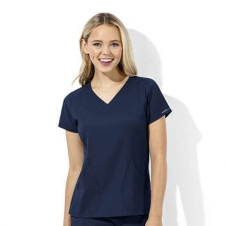 WonderTech Womens V Neck Scrub Top
