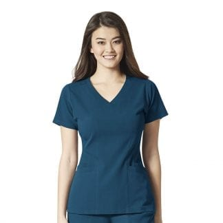 Wonderwink Aero stretchy vneck scrub top