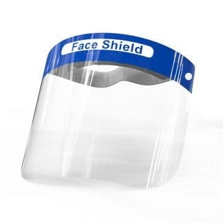Transparent face shields