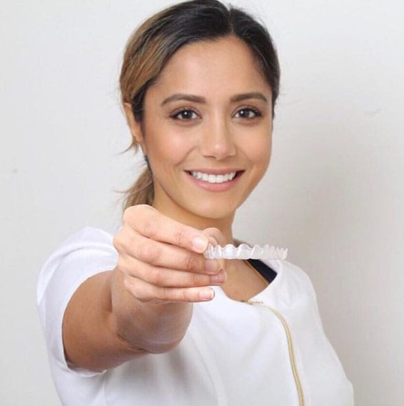 celebrity dentist Dr Manrina Rhodes
