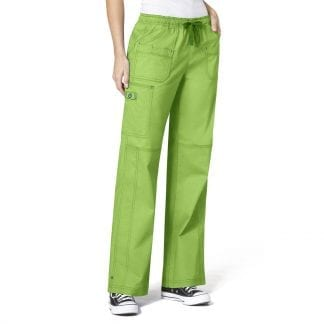 WonderFlex WW5108 Womens Multi-Pocket Cargo Scrub Pants
