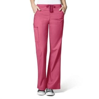 WonderFlex WW5308 Womens Flare Scrub Pants