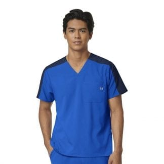 4 way stretch scrubs tops